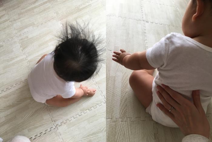 赤ちゃんの転倒対策にジョイントマット
