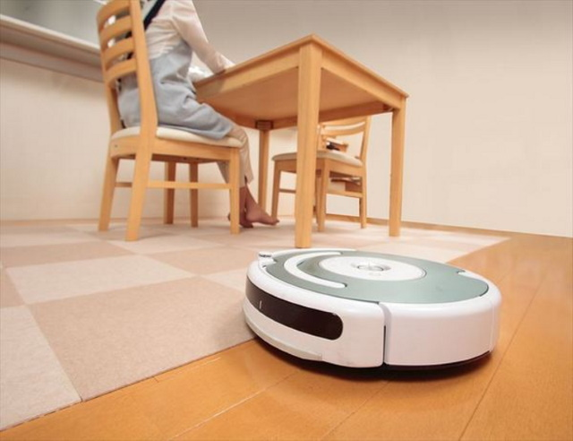 バリアフリーマット!掃除ロボットも楽々使えます