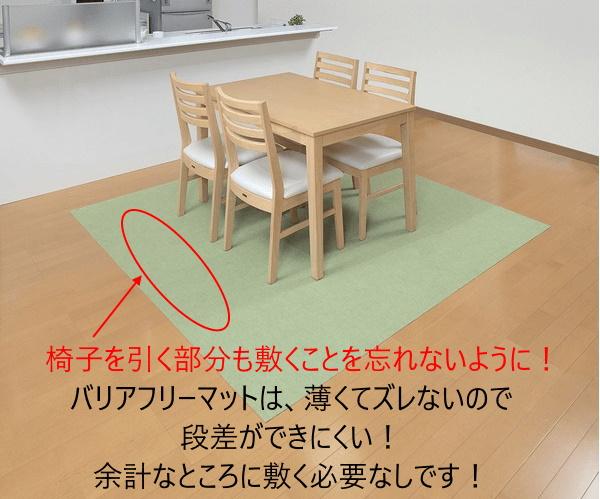 食卓の下に敷くおすすめマット